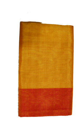 Uppada Tissue Silk  Saree in Golden and Pink Color