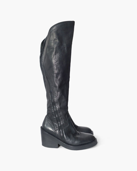 Ann Demeulemeester FW2012 Over-The-Knee Pirate Boots Sz 37