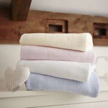 Extra Soft Cotton Cellular Blanket - Pram/Crib