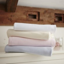 2 Flat Cotton Interlock Cot Bed Sheets