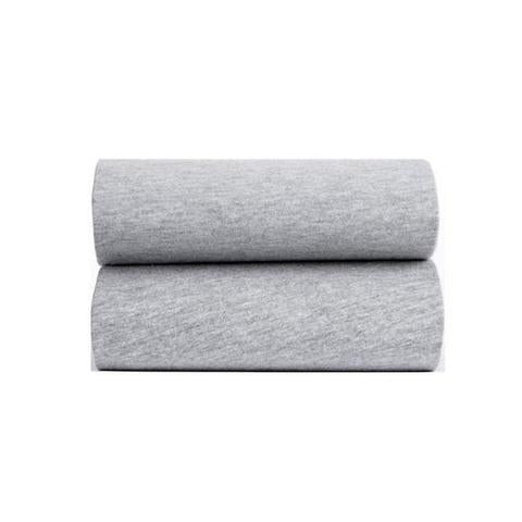 2 Pack Fitted Sheets Grey Marl