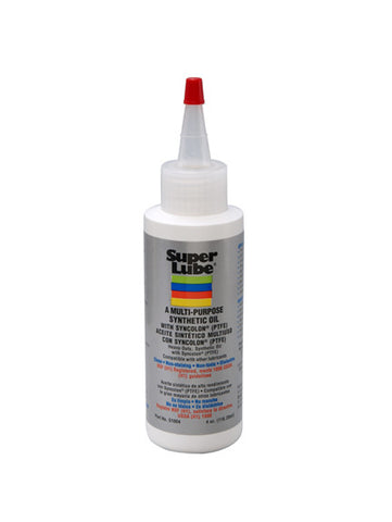 Super Lube Multi-Purpose Oil with PTFE - 4 oz. Bottle (51004)