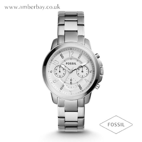 Fossil ES4036 Gwynn Ladies Stainless Steel Chronograph Watch