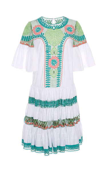 Temperley London Pistachio Clara Smock Runaway DRESS SIZE UK 10 US 6 Ladies