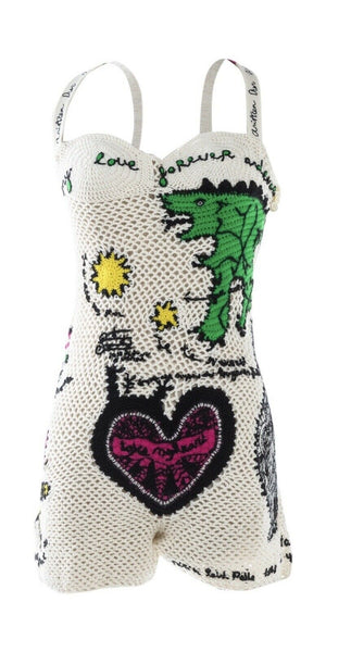 Christian Dior Niki de Saint Phalle Iconic Romper That Took 86 Hours To Make Ladies