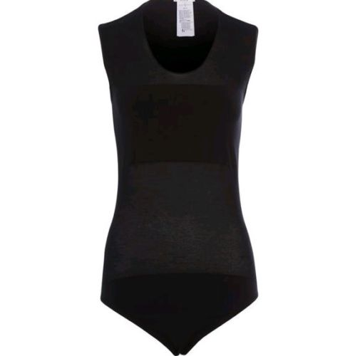 Wolford opaque transparent nature string 76045 size m medium $275.00 in black LADIES