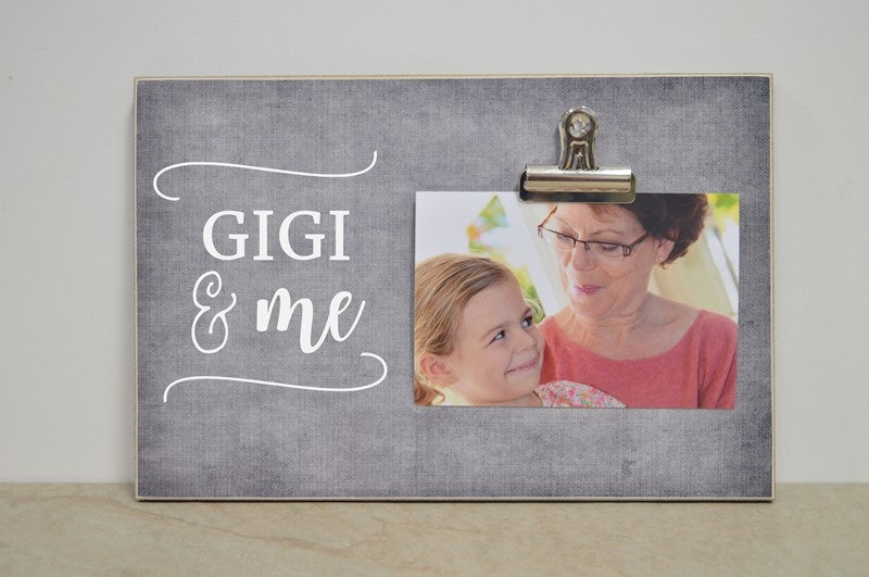 gigi gift mothers day photo frame gift for grandma