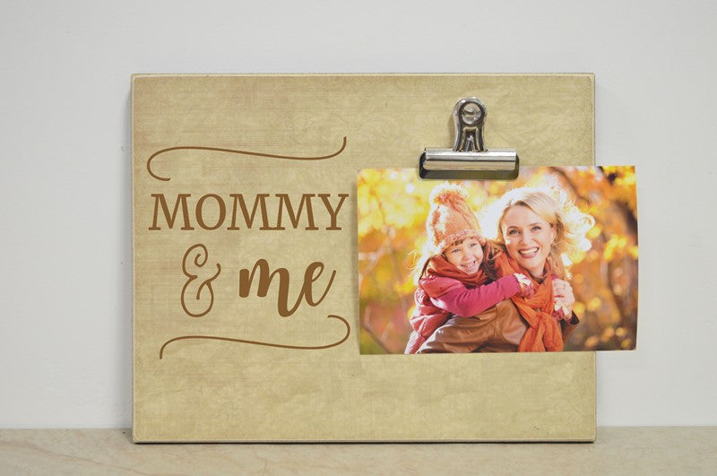 Mommy and me photo frame gift for mom, mothers day gift