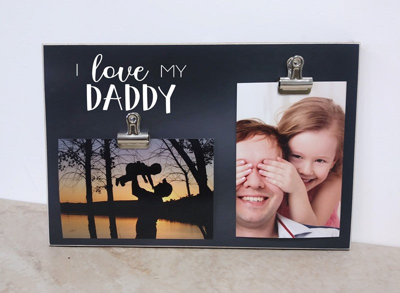 daddy fathers day gift photo frame i love my daddy