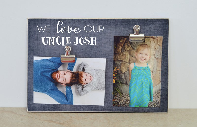 personalized uncle photo frame gift for uncle