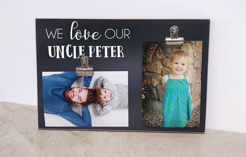 we love our uncle frame