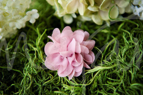 Corsage Grenadine Lace Chiffon Flower Clips, Bows,Hair Flowers,Hair Clips, Ema Jane Boutique