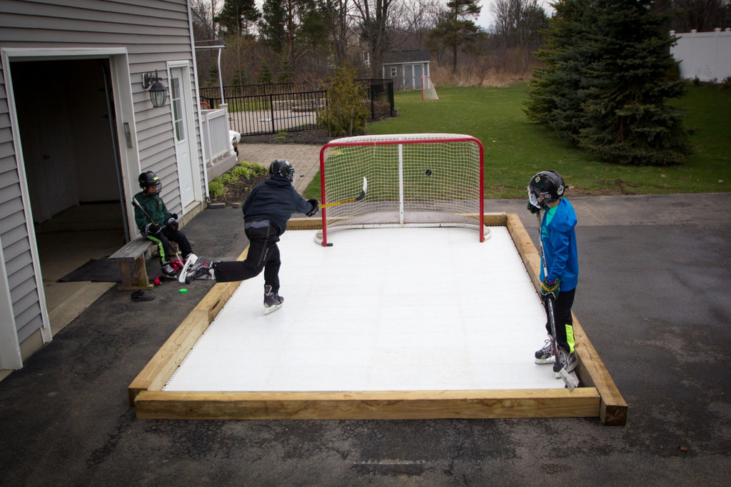 Scan-ICE® 10' x 18'  Synthetic Ice Rink in a Rink Demonstration Videos