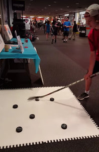 Stick Handling on Scan-ICE® Synthetic Ice Demonstration Video