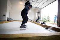 10' x 18' Skate Anytime Synthetic Ice Rink Package