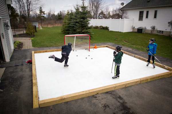 20' x 20' Skate Anytime Synthetic Ice Package