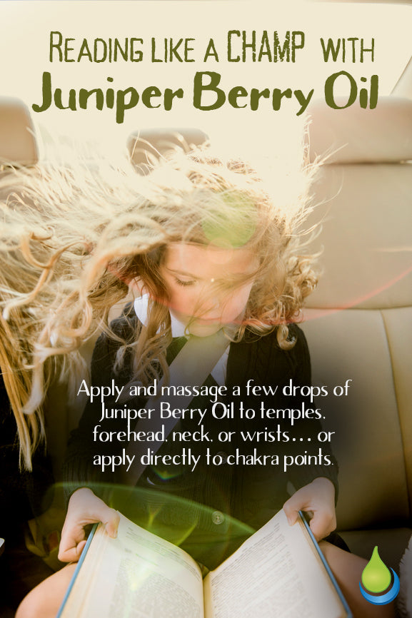 How To Read Like A Champ With Juniper Berry Essential Oil