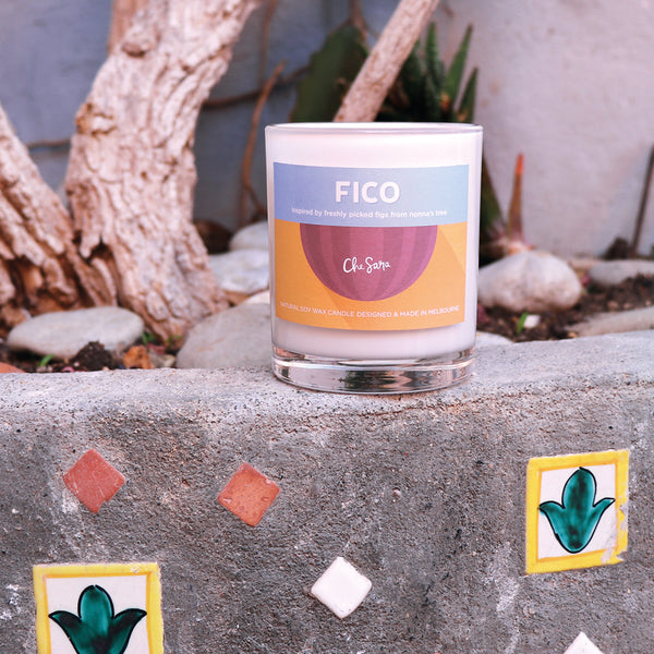 Fico (Fig) Soy Wax Candle