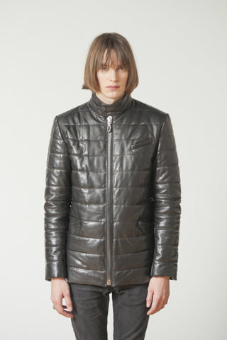 PUFFA LUXURY LEATHER JACKET