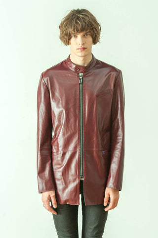 PAGE LUXURY LEATHER FROCK COAT