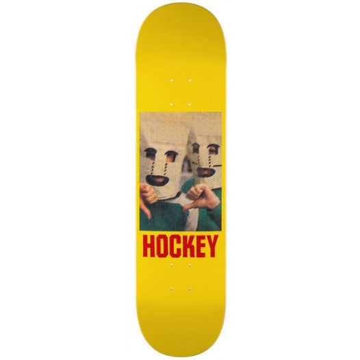 HOCKEY BAGHEAD YELLOW DECK 8.25""