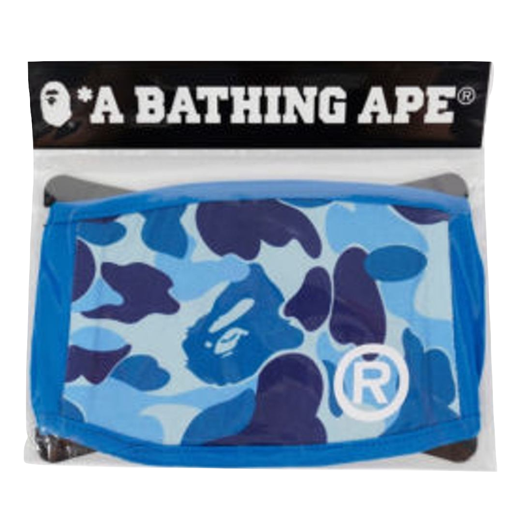 A Bathing Ape ABC Face Mask M - Blue
