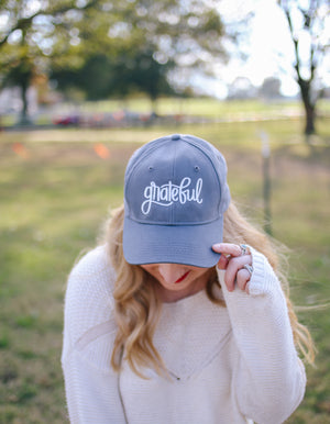 Grateful | Baseball Cap - Rosalynne Love