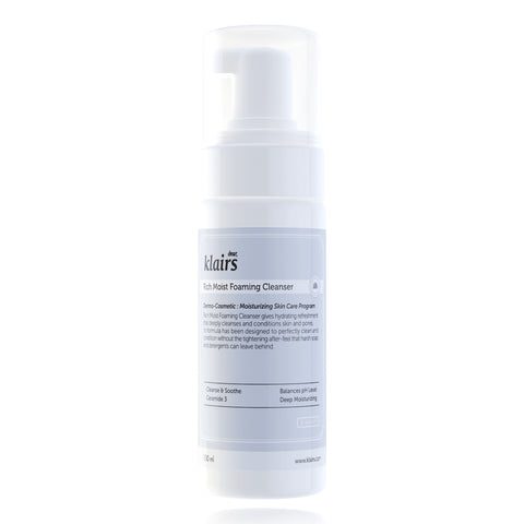 KLAIRS' Rich Moist Foaming Cleanser (100ml)