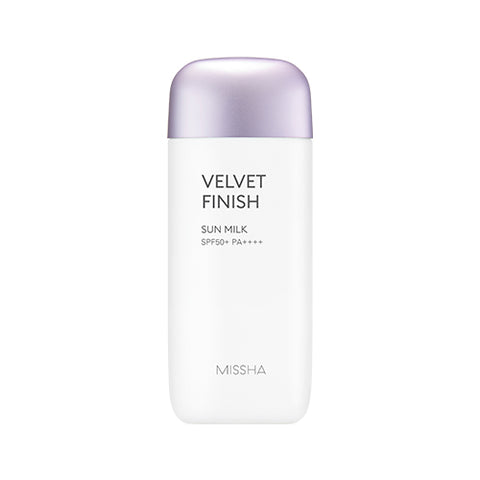 MISSHA ALL-AROUND SAFE BLOCK VELVET FINISH SUN MILK (SPF 50+ PA++++)
