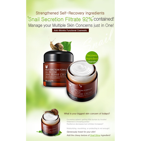 All in One Snail Repair Cream 75g