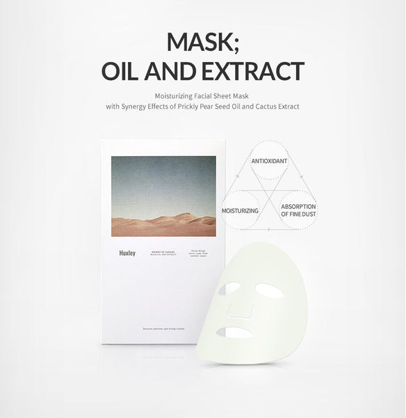 Huxley - Mask Oil And Extract