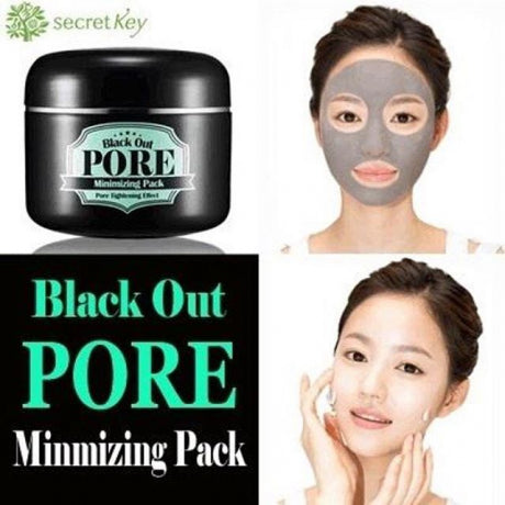Secret Key Blackout Pore Minimizing Pack
