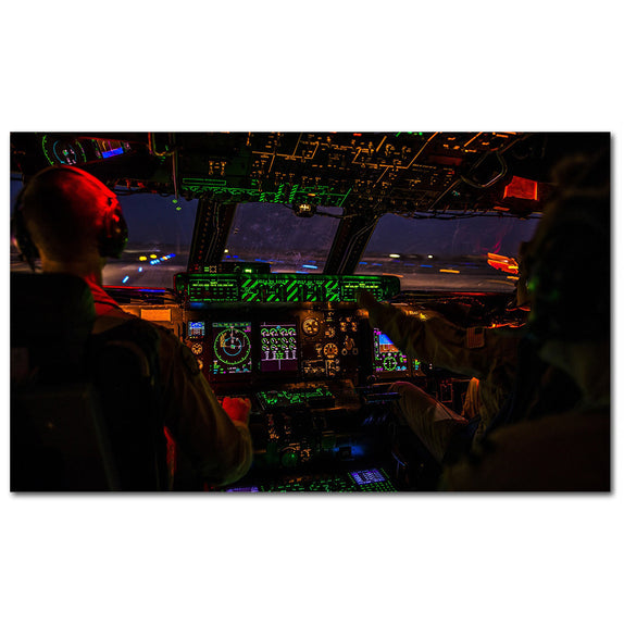 Airplane Cockpit - 1