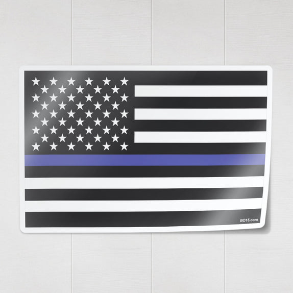 Thin Line - Flag - Decal