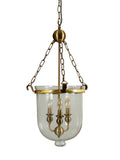 Tasman Antique Bell Jar Pendant Lamp | Buy Luxury Hanging Lights Online India