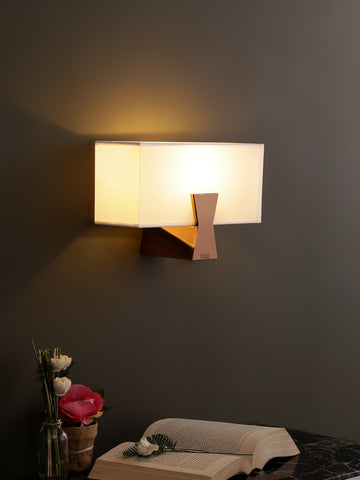 Bucker Rectangular Shade Wall Light | Buy Modern Wall Lights Online India