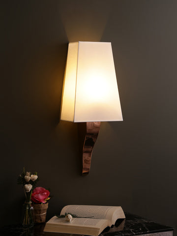 Tucker Copper Shade Wall Light | Buy Modern Wall Lights Online India