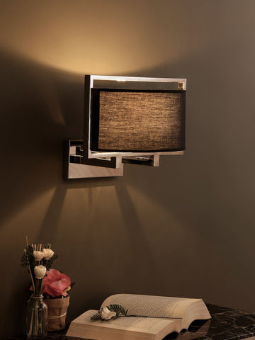 Calor Black Oval Shade Wall Light | Buy Modern Wall Lights Online India