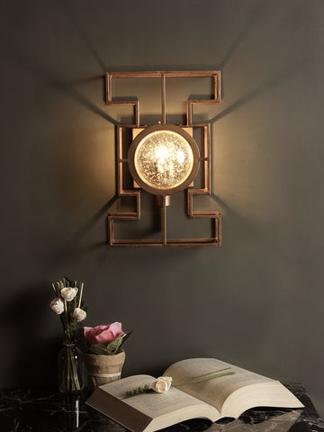 Cassius Gold Wall Light | Buy Modern Wall Lights Online India