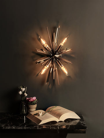 Galaxy Gold Wall Light | Buy Sputnik Wall Lights Online India