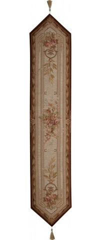 Chaumont French Table Runner - Tapestry Zest