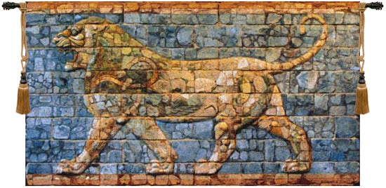 Lion Darius European Wall Tapestry - Tapestry Zest