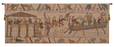 King Harold Small French Tapestry