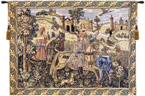 The Hunt Tapestry Wall Tapestry - Tapestry Zest
