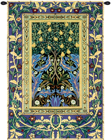 Tree of Life Green Wall Tapestry - Tapestry Zest