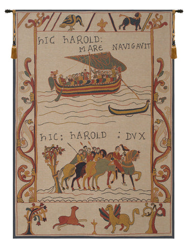 Harold et William Harold and William French Tapestry