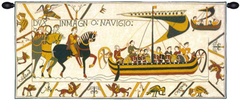 L'Embarquement French Tapestry