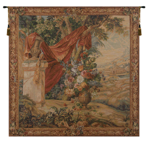 Bouquet Au Drape French Tapestry - Tapestry Zest