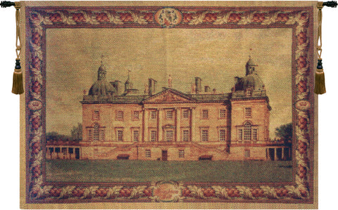 English Castle Belgian Wall Tapestry - Tapestry Zest