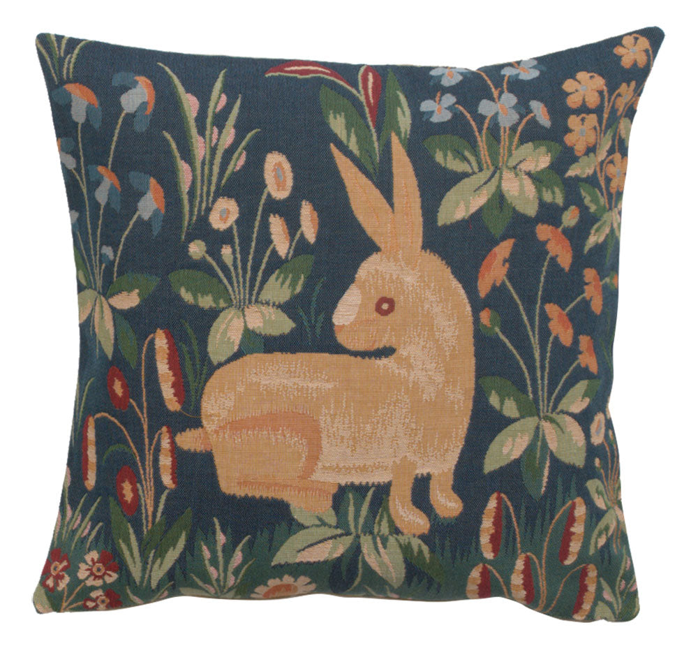 Medieval Rabbit French Cushion Cover